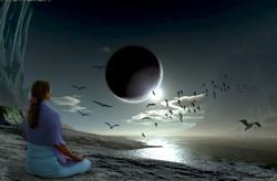 лунное затмение практика