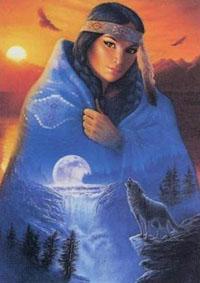 шаманка-луна
