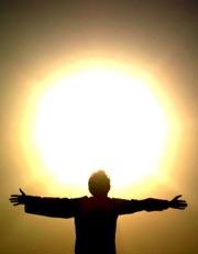 солнце человек