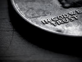 монета бог