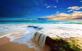 океан небо