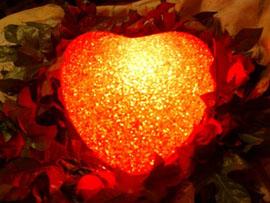 сердце горящее