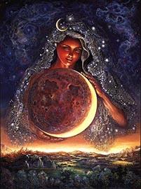 луна богиня