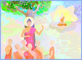будда и ученики