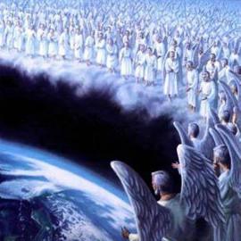 ангелы молятся о земле