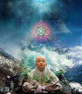 ребенок будда