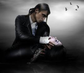 вампир и жертва