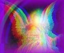 ангел радуга