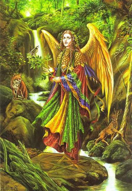 ангел земли