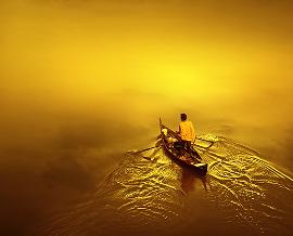 море желтое