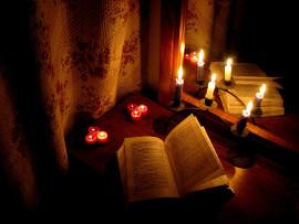 свеча и зеркало