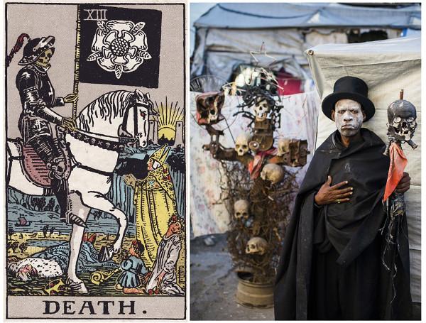 смерть гетто таро