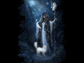 богиня белая