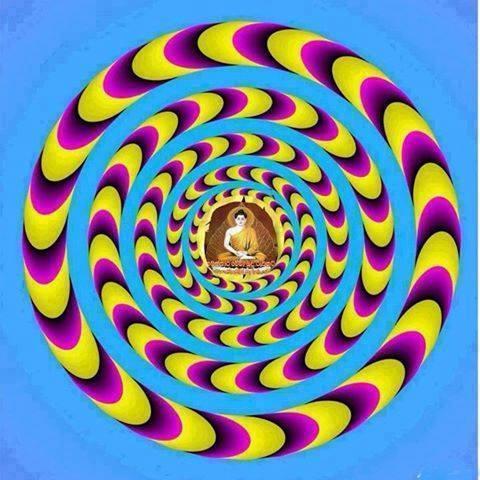 будда и круги