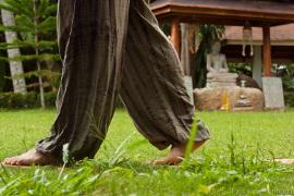 медитативная ходьба