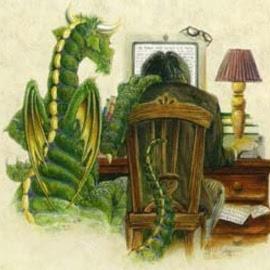 дракон и компьютер