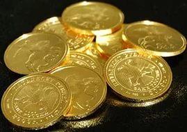 золотые монеты1