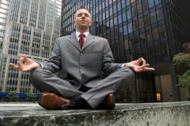 медитация в городе